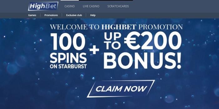 100 free spins and 200 euro free bonus